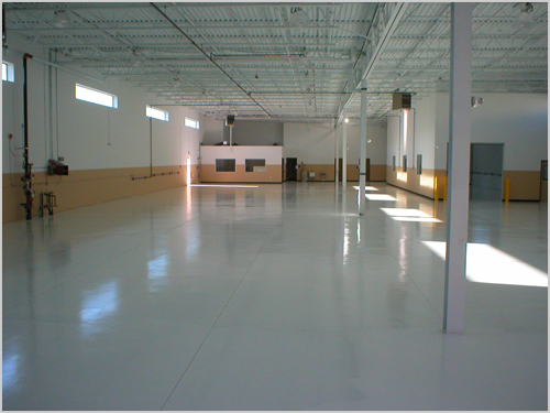 in a with garage gallery painted paint options shiny floor grey floors view