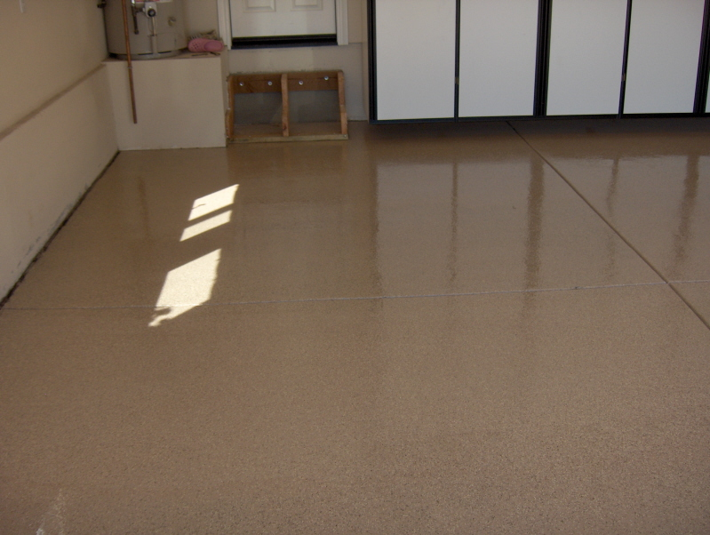 flooring after epoxy atlanta options vs choices floor adhesion coating garage birmingham covering polyurea
